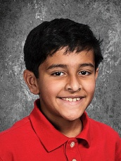 Hamood Qureshi (Woodvale Elementary School), 3rd place, 3-4 grade bee.