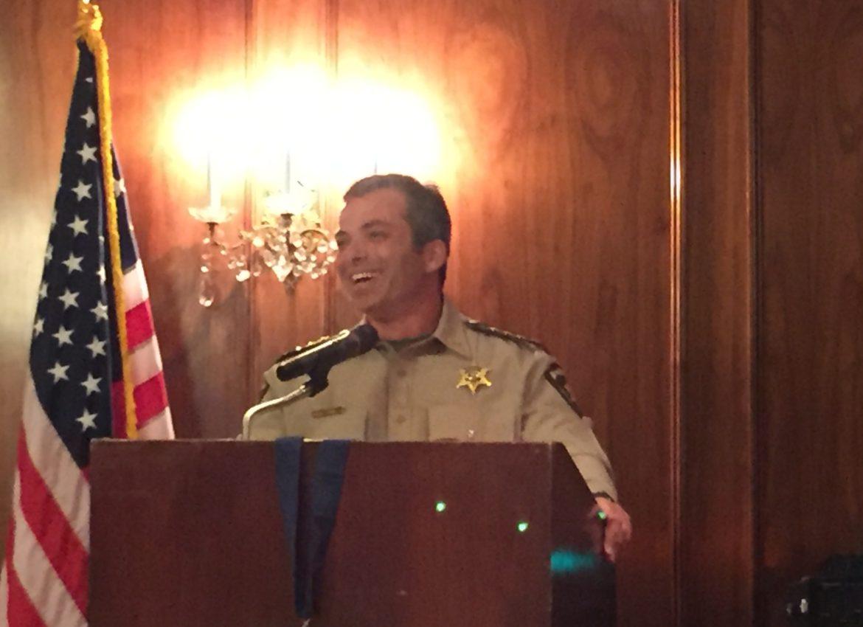 Sheriff Mark Garber – Guest Speaker – 11/15/16